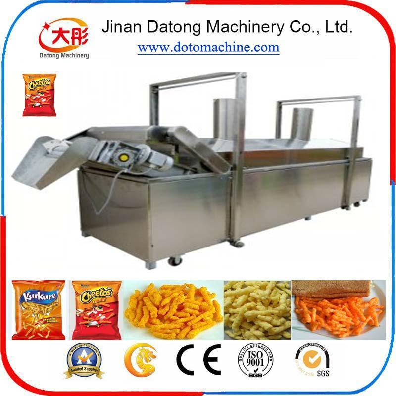 膨化玉米卷曲食品加工设备 4