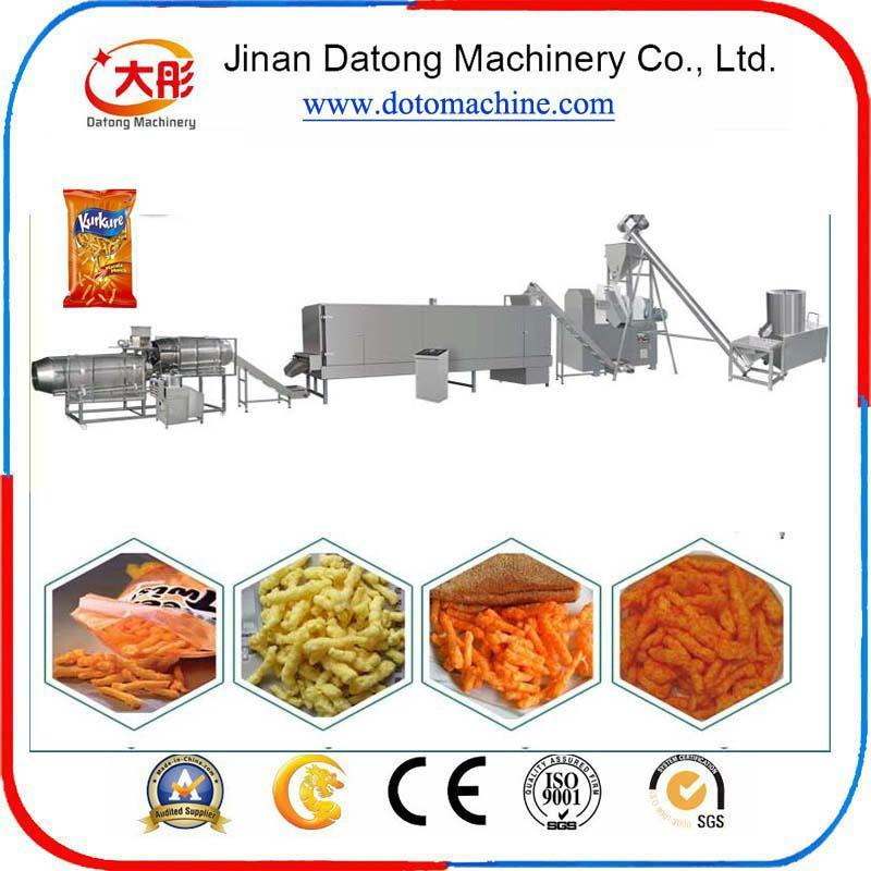 膨化玉米卷曲食品加工设备 2