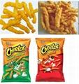 Cheetos corn snacks food extruder machine 7