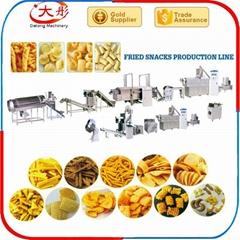 Crispy Rice/Bugle frying Snacks Processing Line