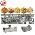 Frying pellet food processing line