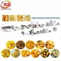 Bugles crispy food processing machine /Bugles food snacks machine /Fried Flour 3