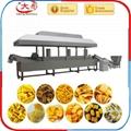 Bugles crispy food processing machine /Bugles food snacks machine /Fried Flour 4
