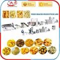 Bugles crispy food processing machine /Bugles food snacks machine /Fried Flour 5