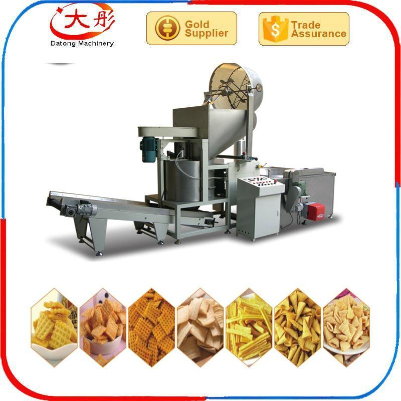 Bugles crispy food processing machine /Bugles food snacks machine /Fried Flour 7