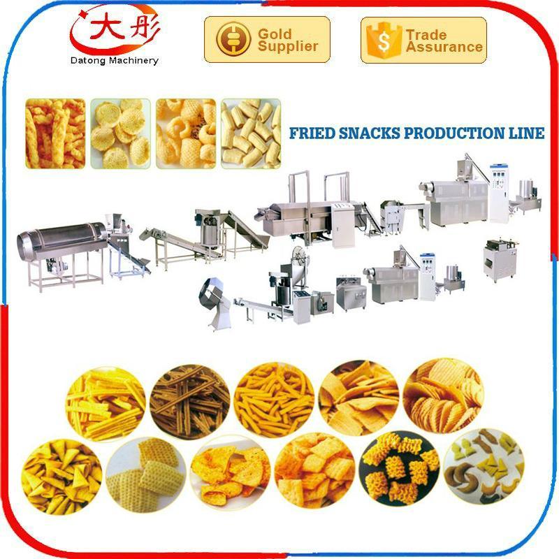 锅巴食品生产线 4