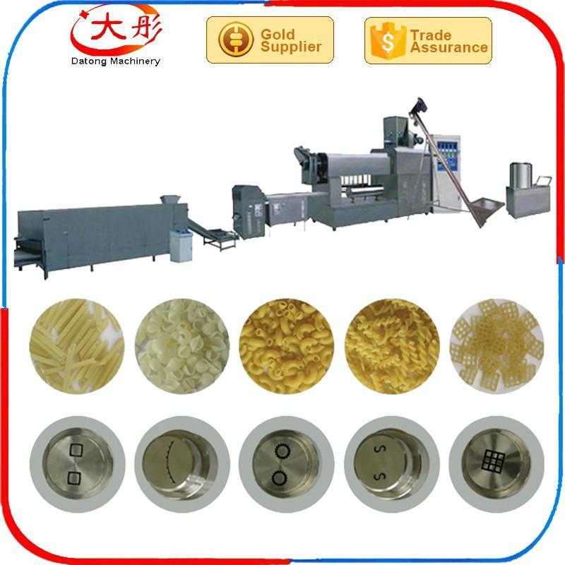 单螺杆挤压机、单螺杆油炸食品生产设备 6