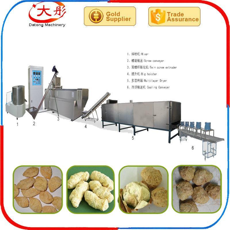 膨化大豆蛋白食品加工设备 1