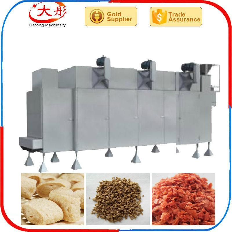 膨化大豆蛋白食品加工设备 19
