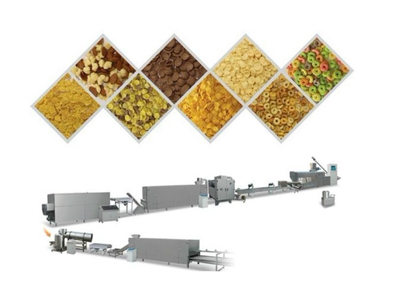 早餐穀物玉米片加工設備 2