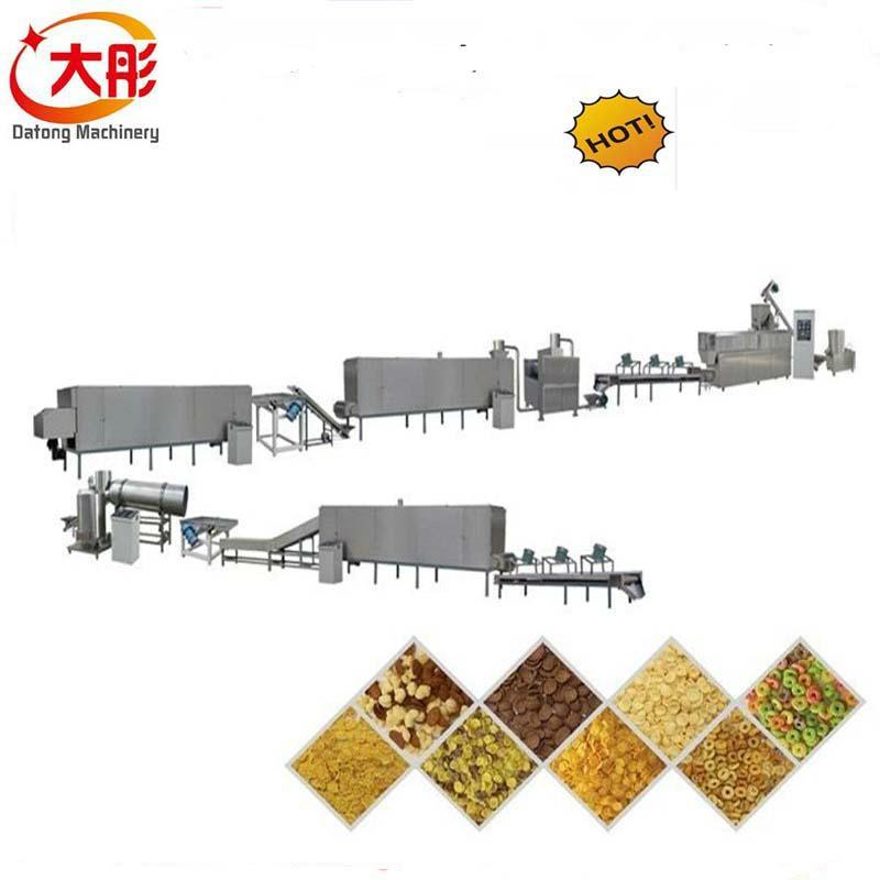 早餐穀物玉米片加工設備 3