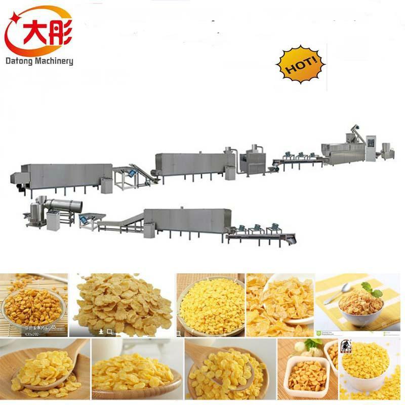 早餐谷物玉米片加工设备 1