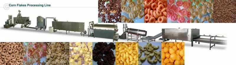 早餐谷物玉米片生产线 5