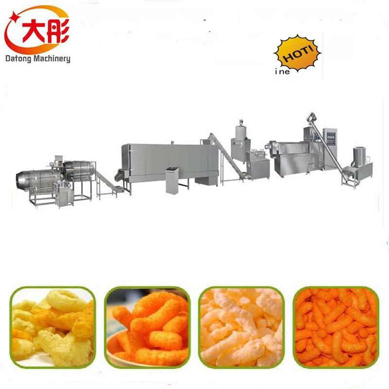 Crispy snacks food production line 2