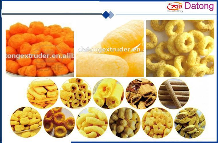 Crispy snacks food production line 4