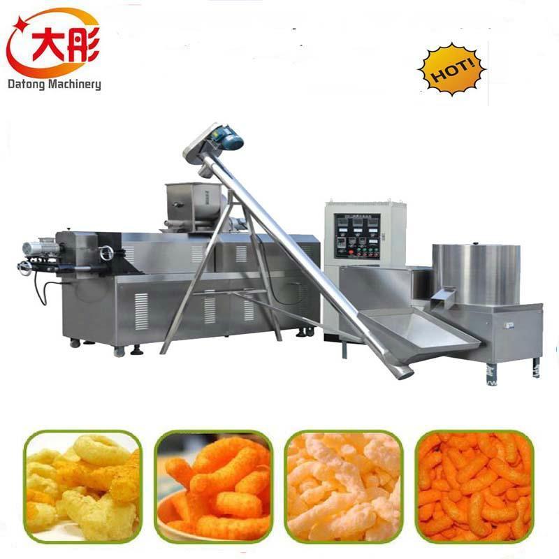 Crispy snacks food production line 8