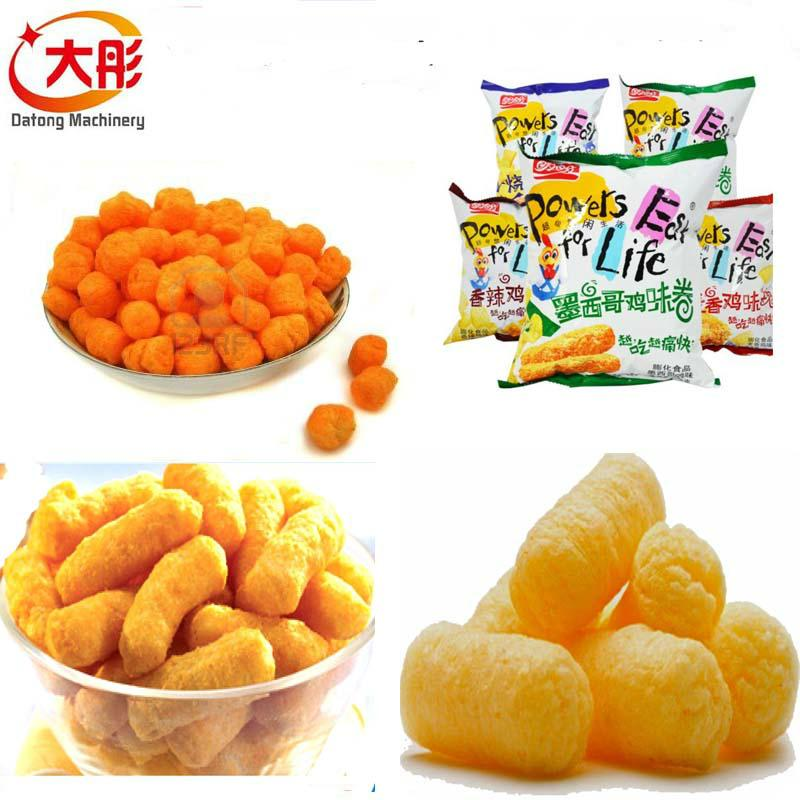 Crispy snacks food production line 10