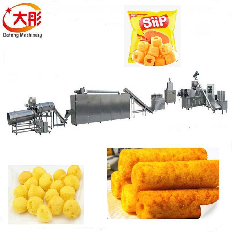大麦烧膨化食品机械 1