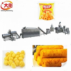 Corn snacks food making plant