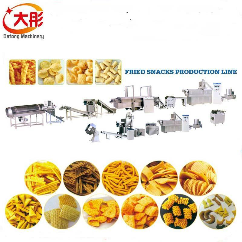大麦烧膨化食品机械 2