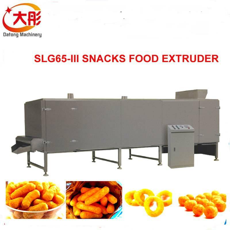 大麦烧膨化食品机械 7