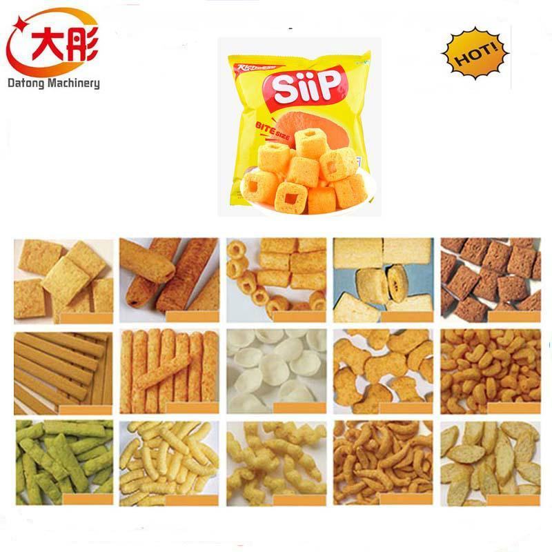 大麦烧膨化食品机械 9