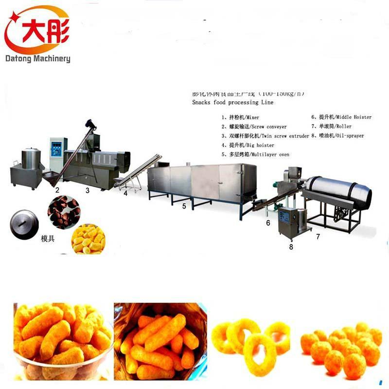 膨化食品機械廠家價格 8