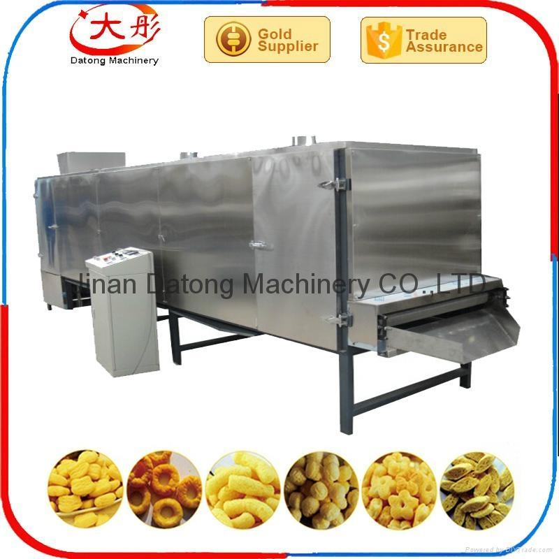 膨化玉米棒设备/膨化食品机械 9