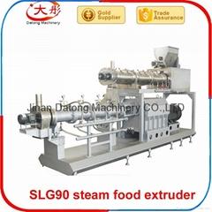 Extrusion fish feed making machine