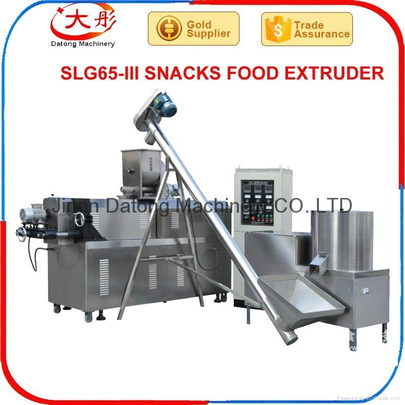 Snacks food extruder plant 1