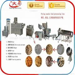 Frying snacks line
