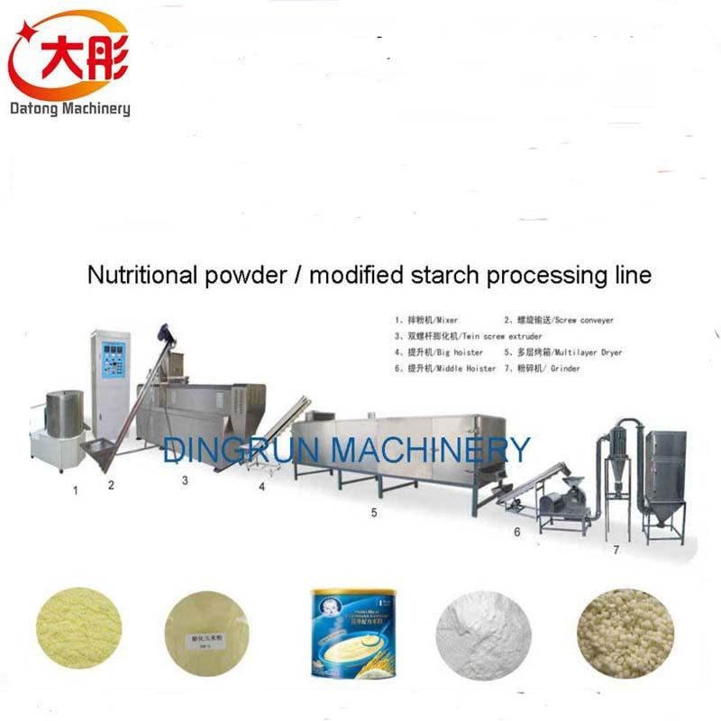 膨化营养米粉加工设备 7