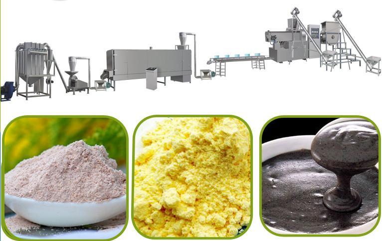 膨化營養米粉加工設備 2