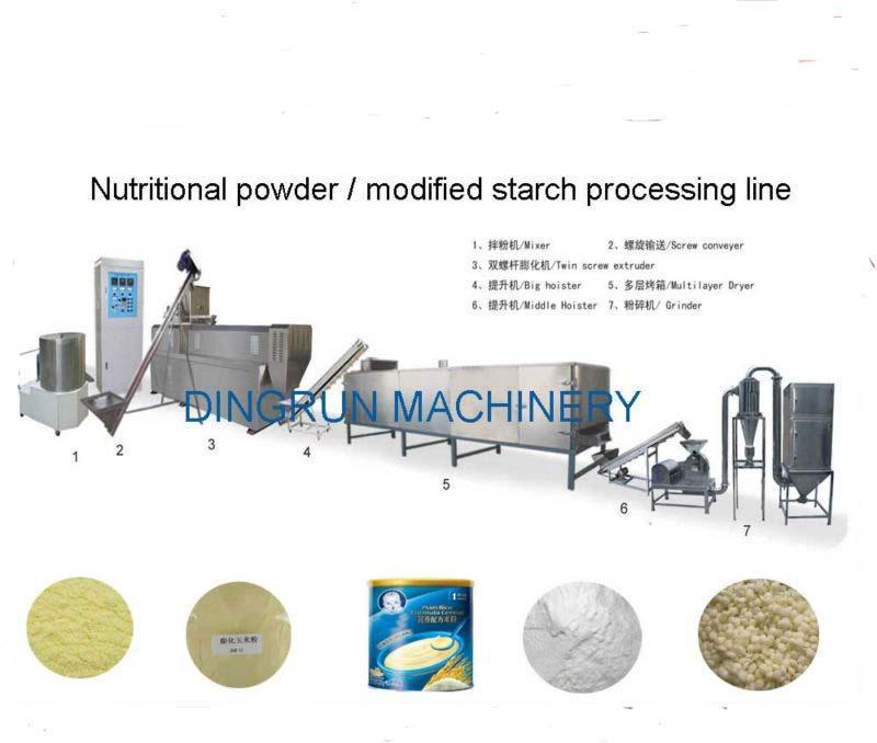 膨化營養米粉加工設備 8