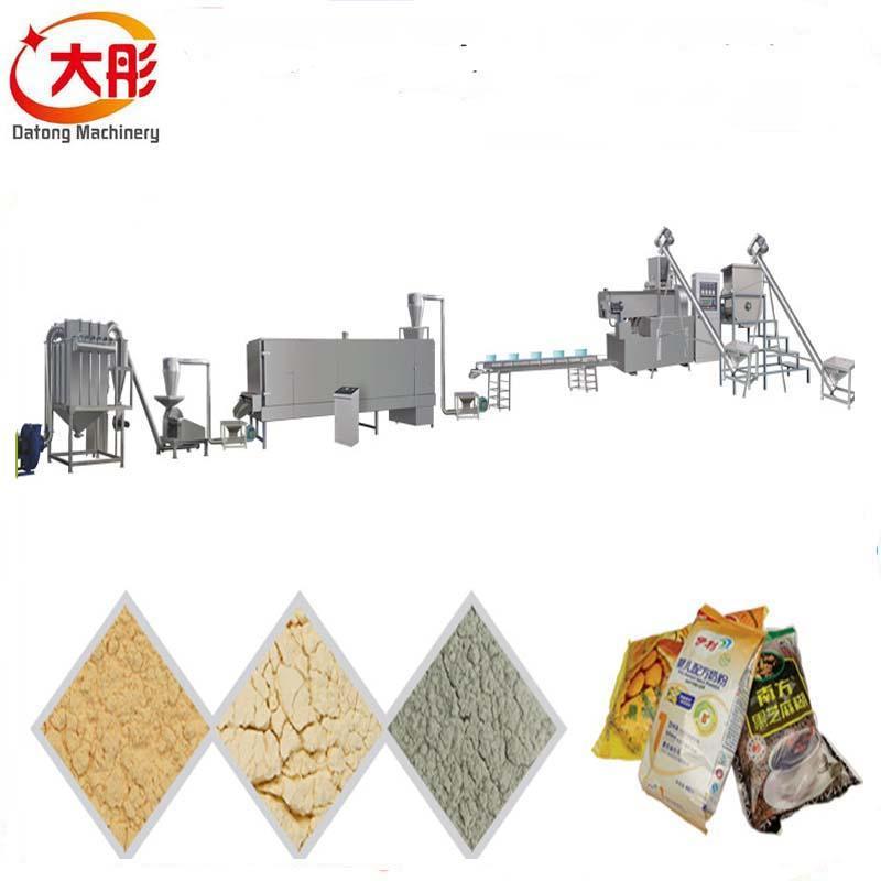 膨化營養米粉加工設備 9