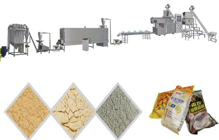 膨化營養米粉加工設備 10