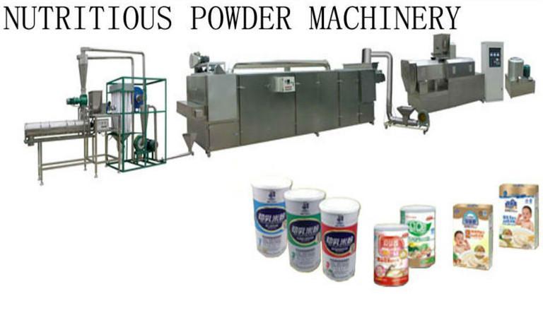 膨化營養米粉加工設備 11