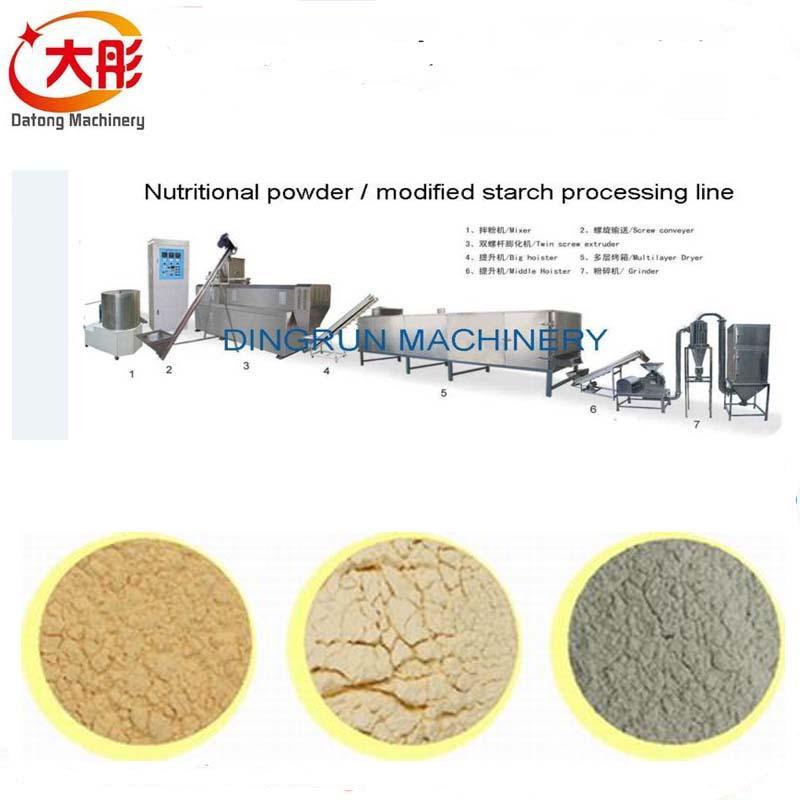 膨化營養米粉加工設備 14