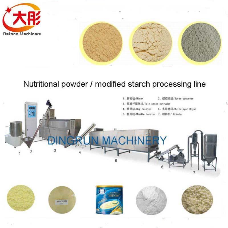 膨化營養米粉加工設備 15
