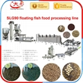 Floating Fish feed pellet Processing  extruder Machine  3
