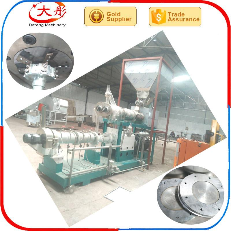 Floating Fish feed pellet Processing  extruder Machine  7