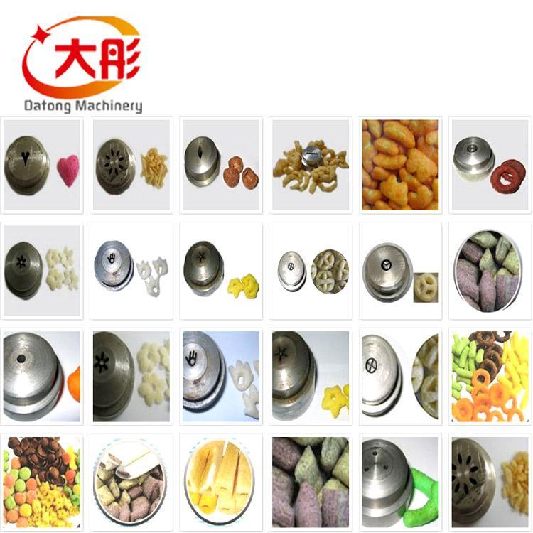 膨化夹心米果食品生产线 5
