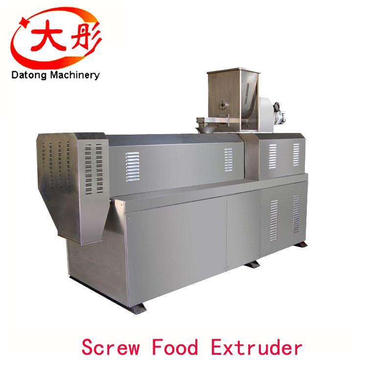 膨化玉米棒設備 玉米膨化食品機械_膨化食品生產線 9
