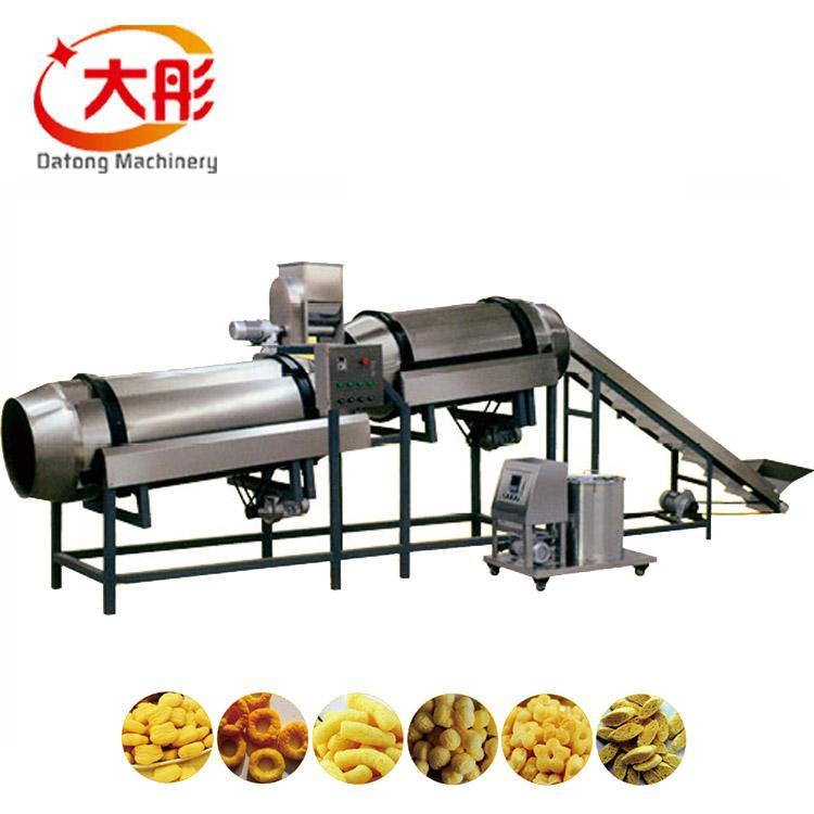 膨化玉米棒設備 玉米膨化食品機械_膨化食品生產線 2