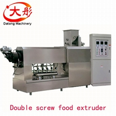 Pet dog chews food processing line