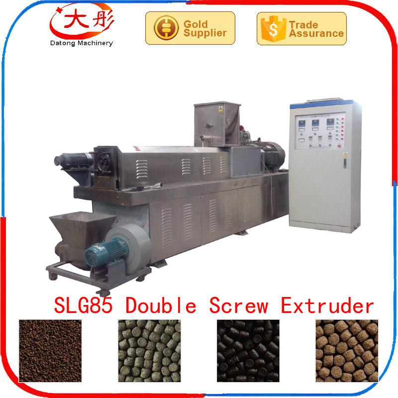 Floating fish feed food  pellet making extruder machine 3