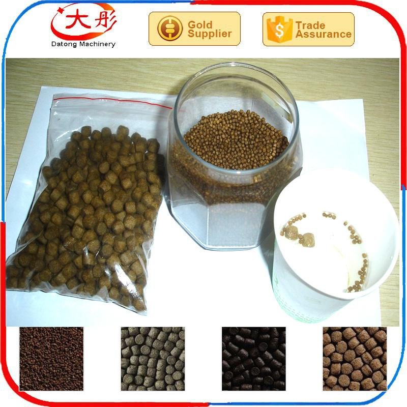 Floating fish feed food  pellet making extruder machine 9