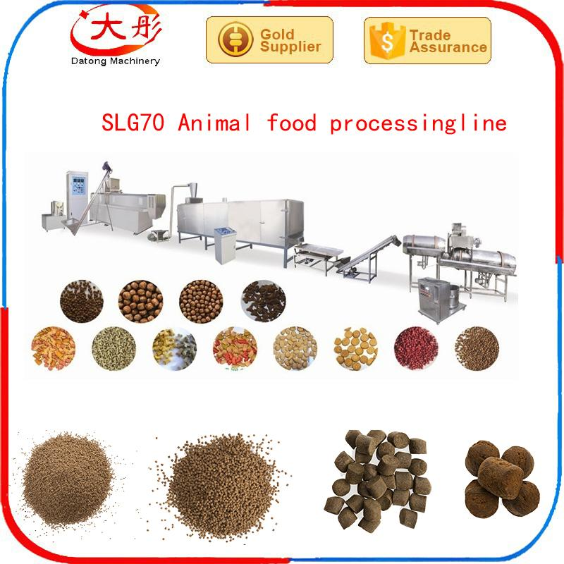 Floating Cat fish Feed Pellet Extruder food processing machine plant equipment  9