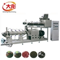 aquarium floating fish feed pellet making extruder machine