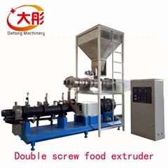 aquarium  floating tilipia fish feed making processing extruder machine